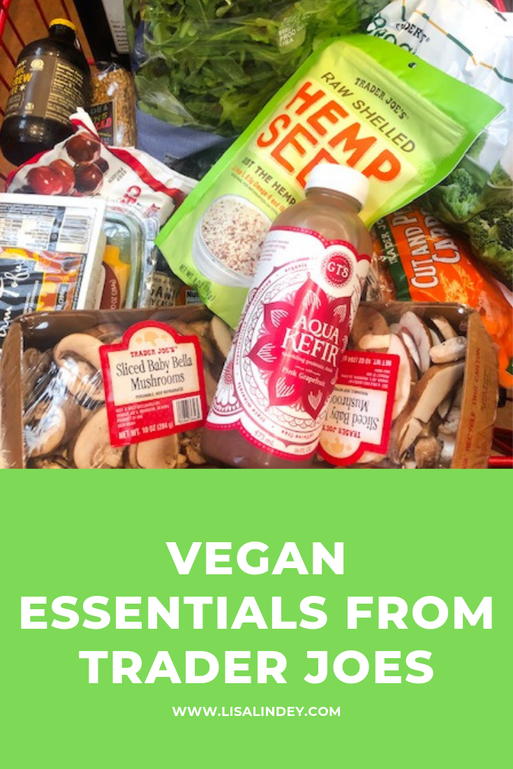 My vegan essentials from trader joe's as a plant based runner