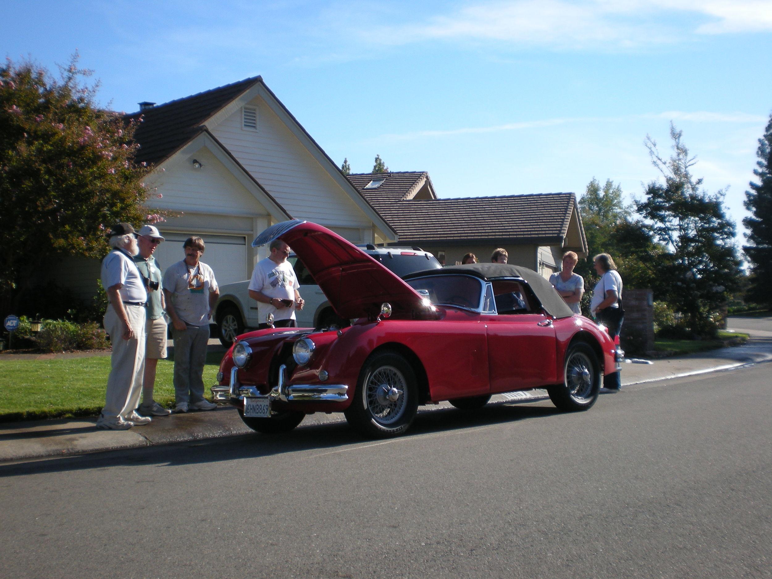 1958 XK150 DHC