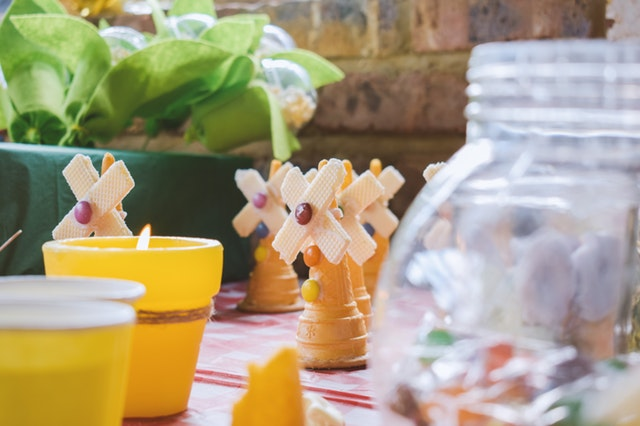 eco-friendly kids b-day party