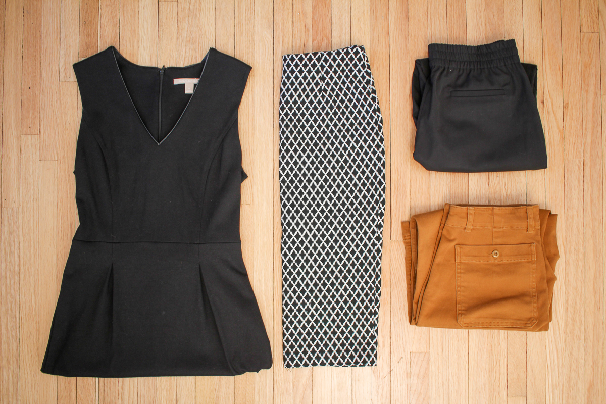 reduce stress with a capsule wardrobe
