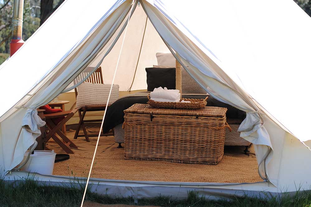 Image courtesy of Cosy Tents
