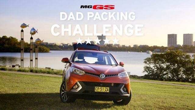 Round two of the @mg_motor_aus Dad's packing challenge is on! Who wins? Swipe across to see! Check out more on the MG Australia Facebook page. Link in bio! #mggs #mgmotorsaus #ad