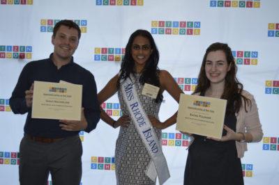 One of this year's PVSA winners was Shruti Nagarajan, the 2016 Miss Rhode Island!