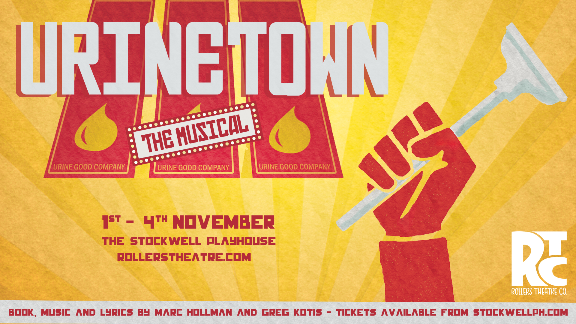 RTC Presents Urinetown: The Musical