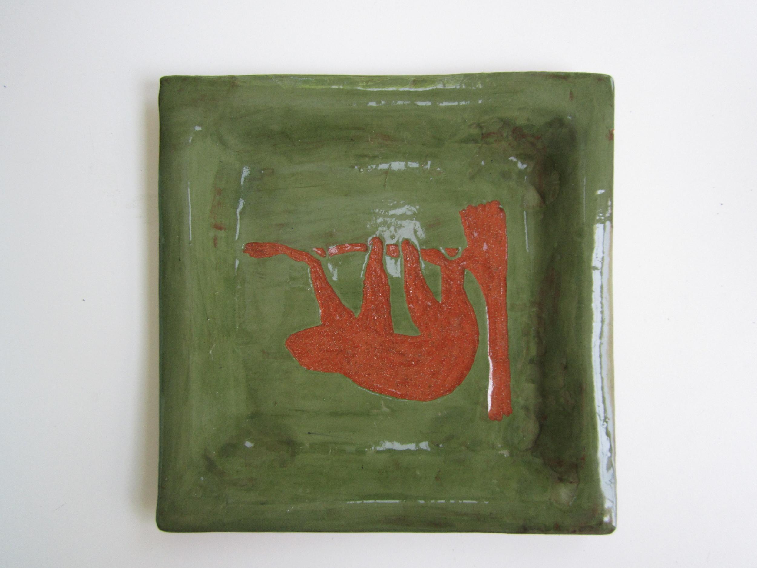 Green Sloth Plate 1.JPG