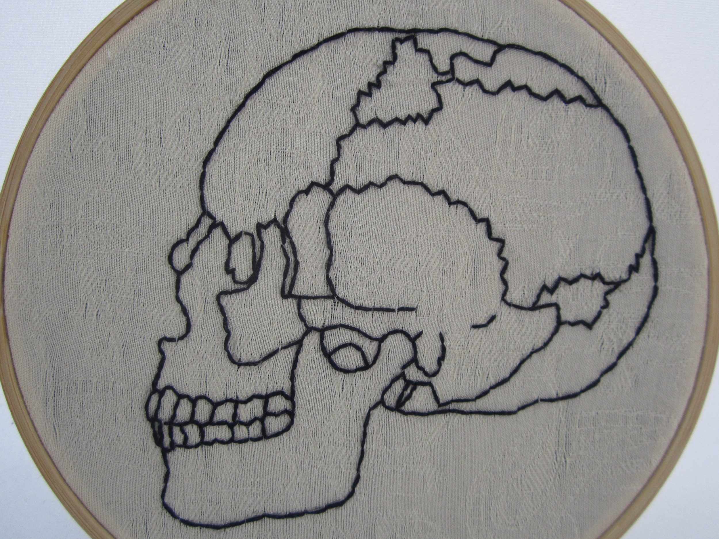 Skull on patterned white 2.JPG