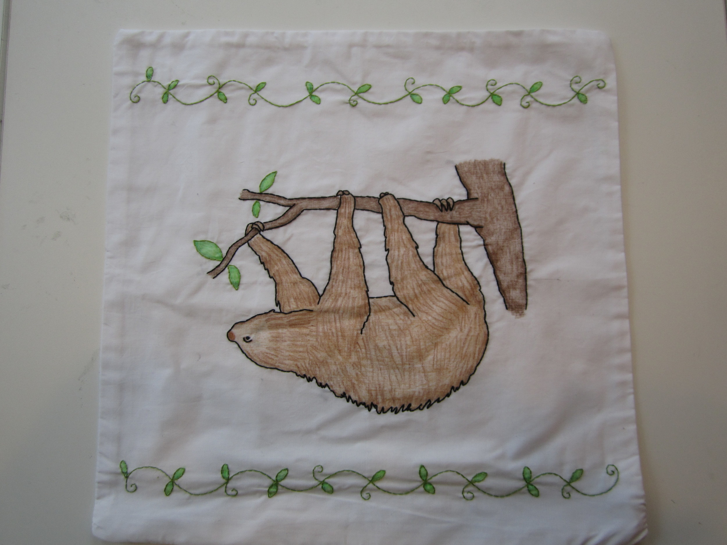 Sloth Pillowcase 1.JPG