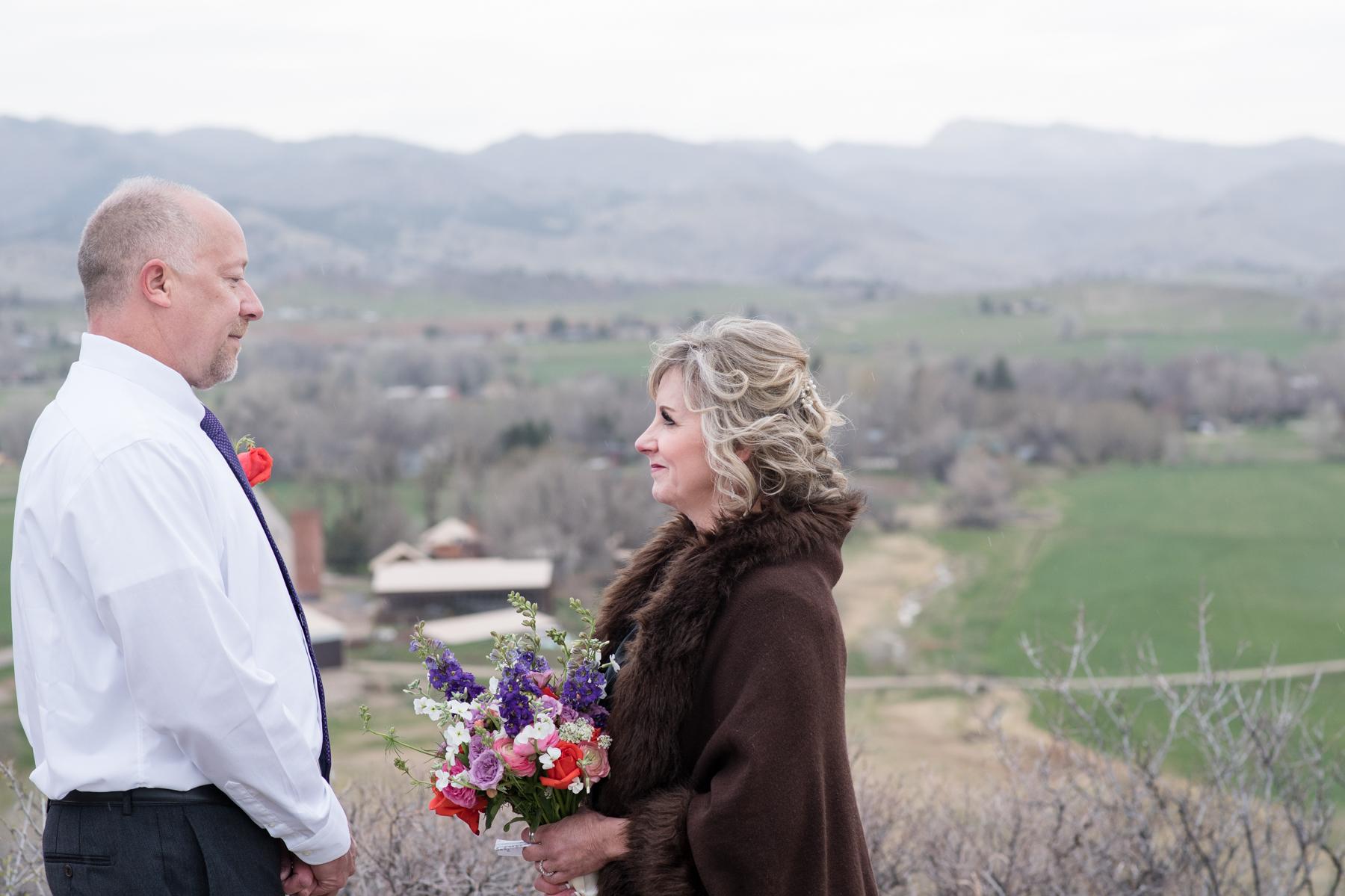 fort collins outdoor wedding bingham hill Kristen Rush Photography