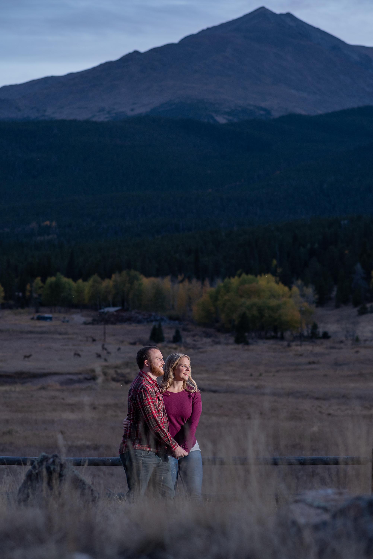 Estes Park Engagement Photoshoot
