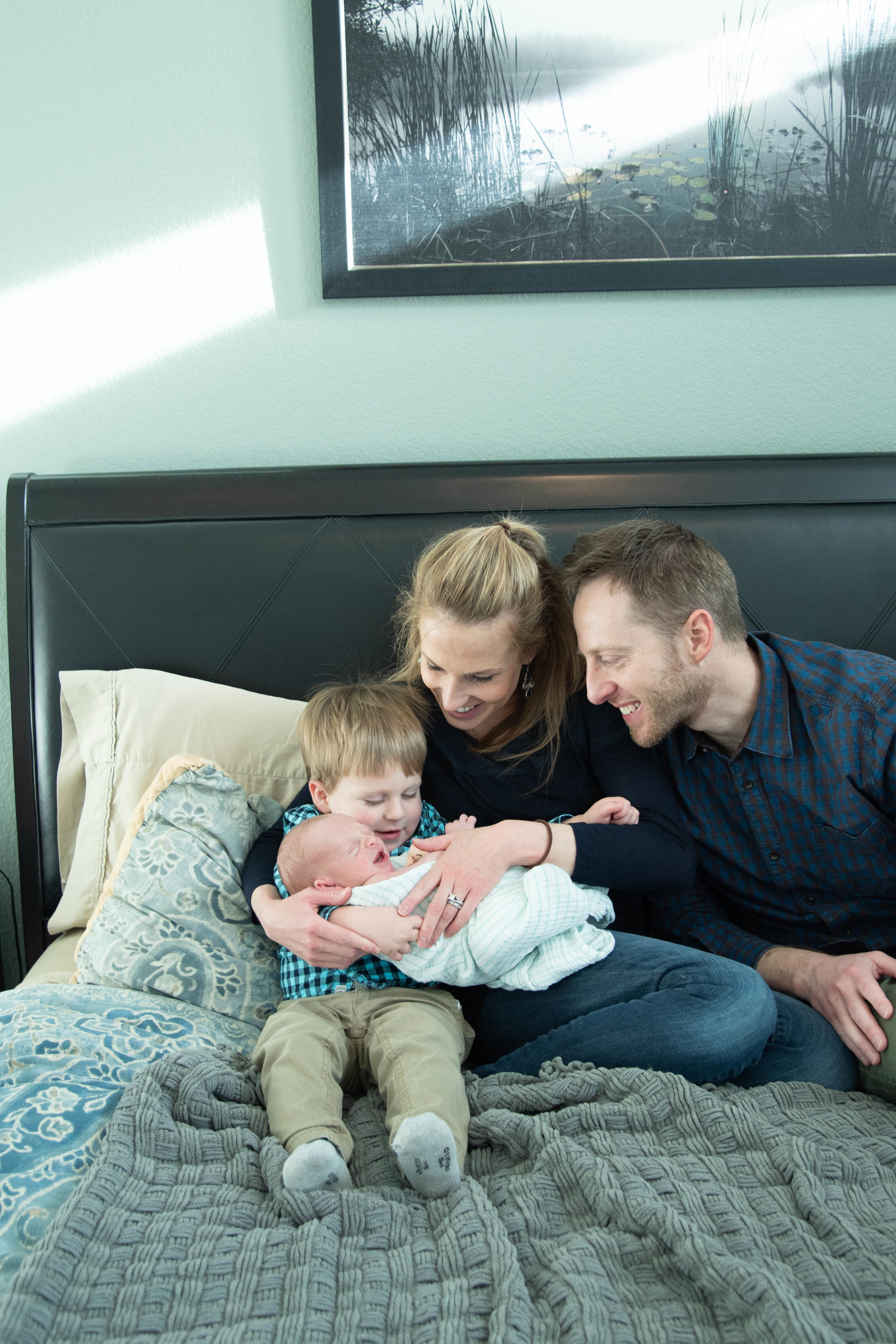 Denver Newborn Lifestyle Kristen Rush Photography