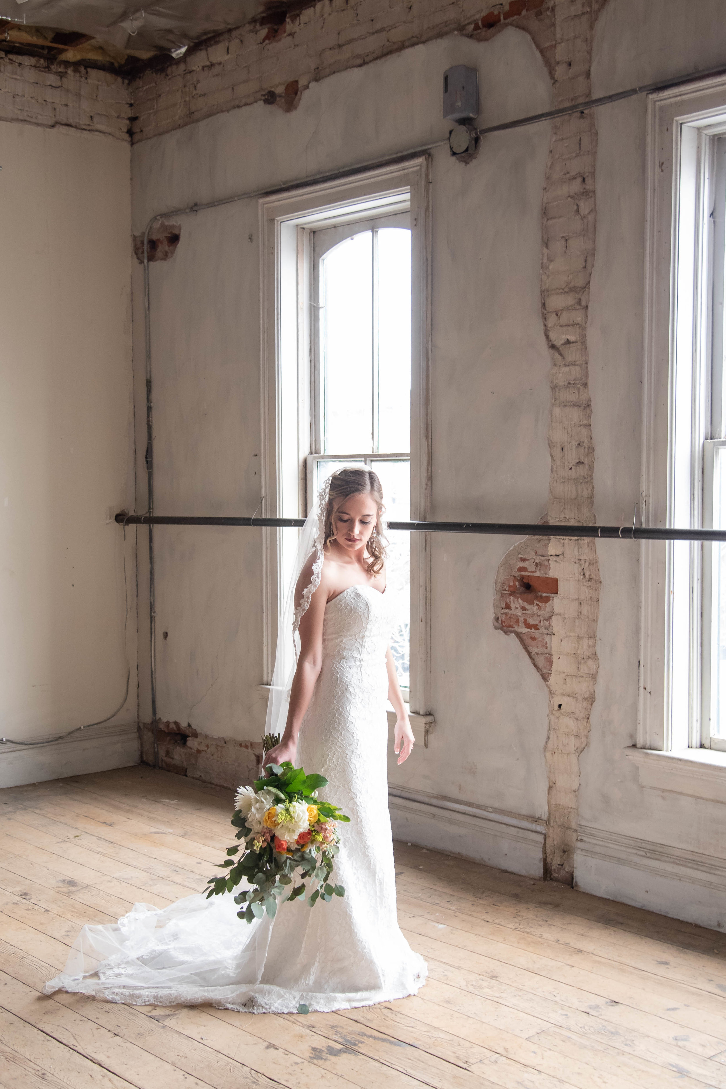 bridal portrait kristen rush photography