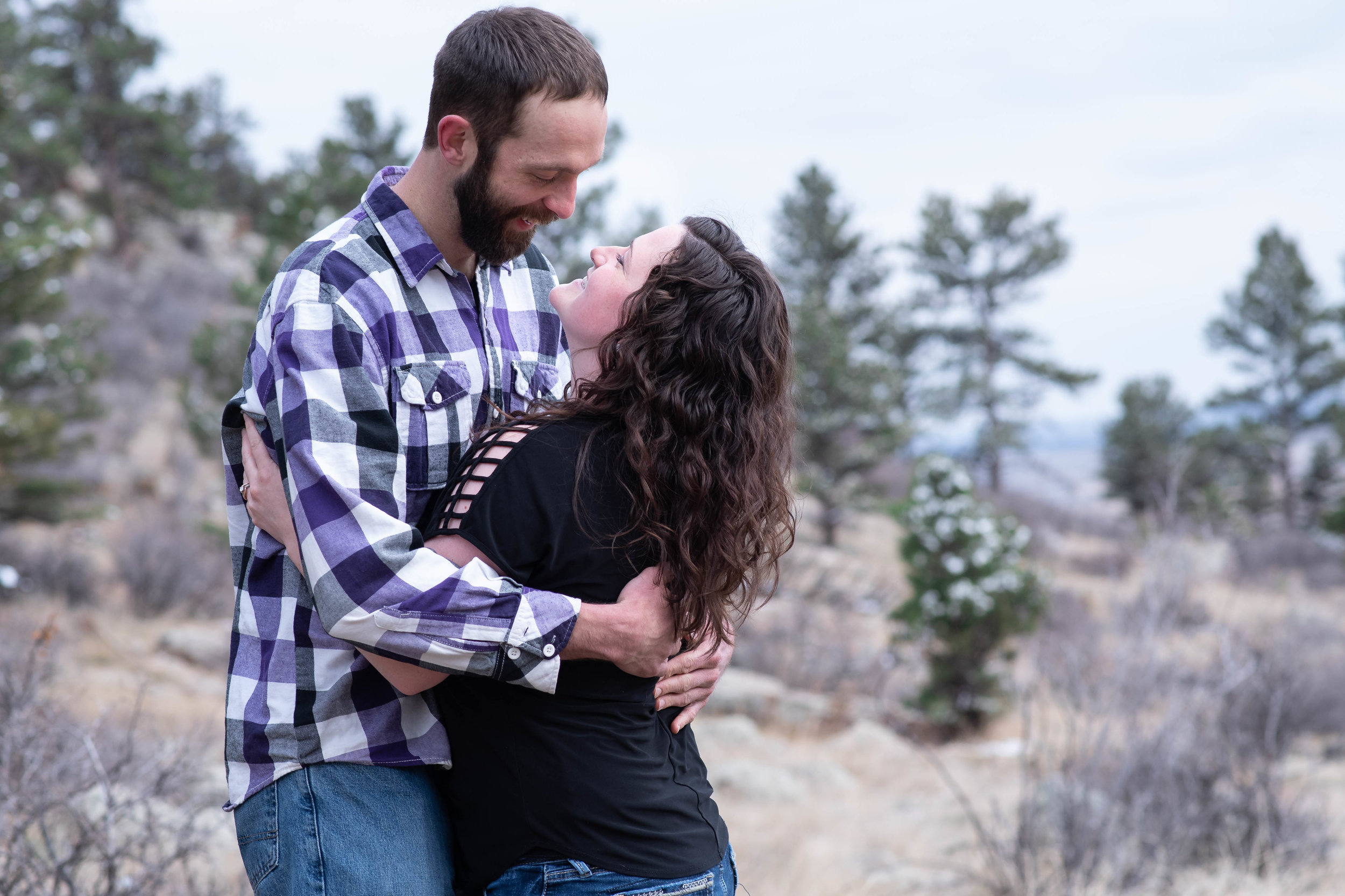 Horsetooth Reservoir Engagement Kristen Rush Photography