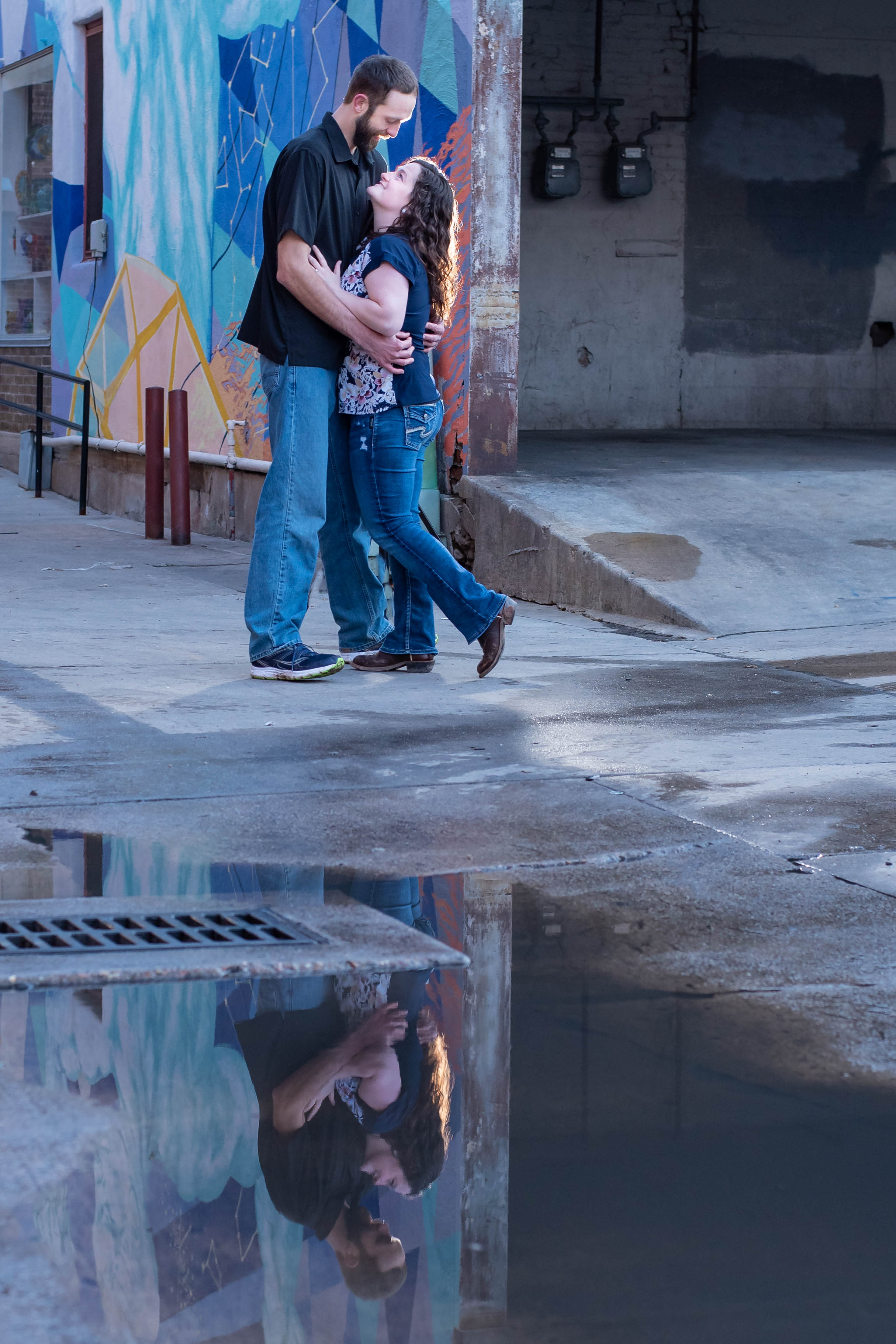 Old Town Fort Collins Engagement Kristen Rush Photography