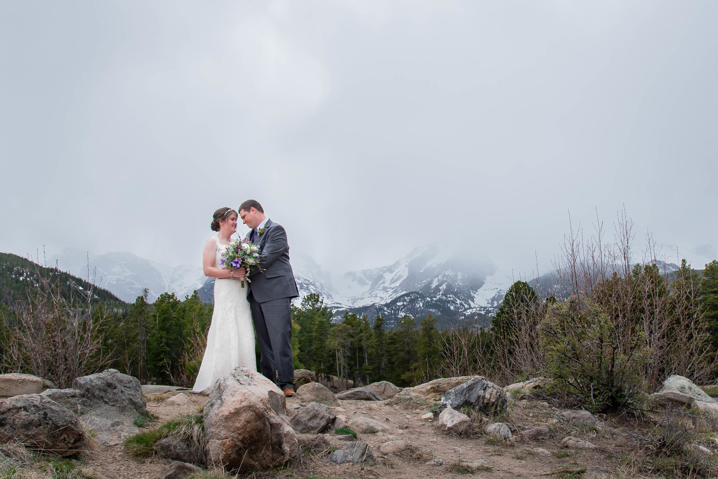 Estes Park Wedding Kristen Rush Photography