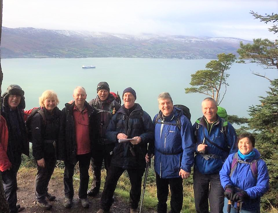 Great views overlooking Carlingford Lough