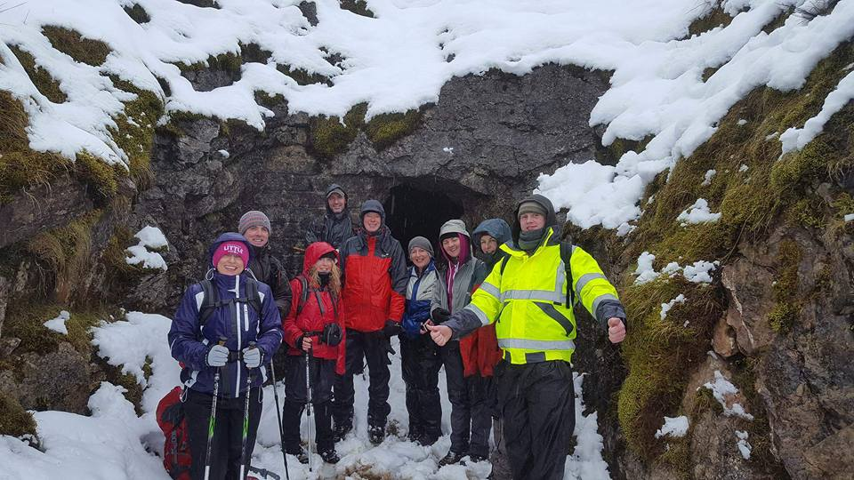 Visiting the Old Barytes Mines at Glencarbury, Benbulben with High Hopes Hiking