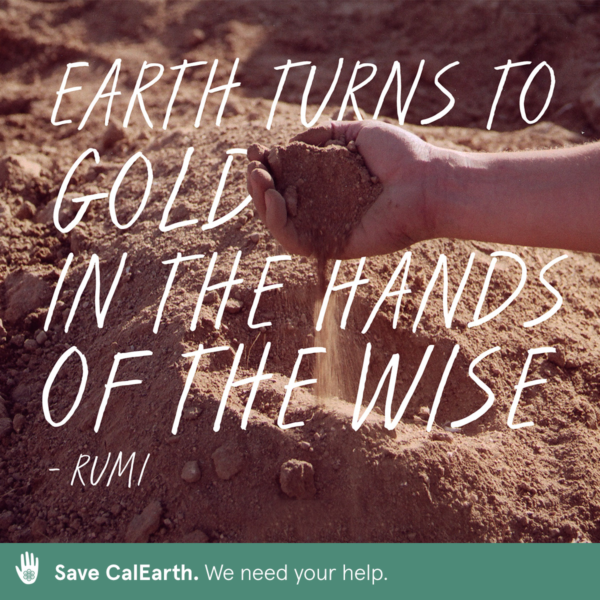 Your donation allows CalEarth to educate people to build using the SuperAdobe method and help save the planet we all share. Help save CalEarth and make this powerful tool accessible to even more people worldwide.  calearth.org/donate   #calearth #savecalearth #superadobe