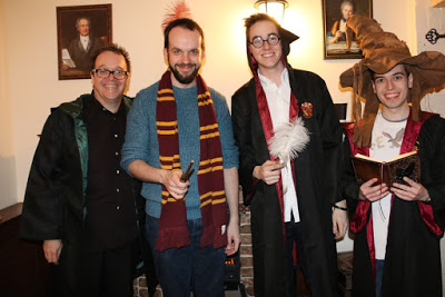 After graduating from  Enigma Quests ' School of Witchcraft and Wizardry!