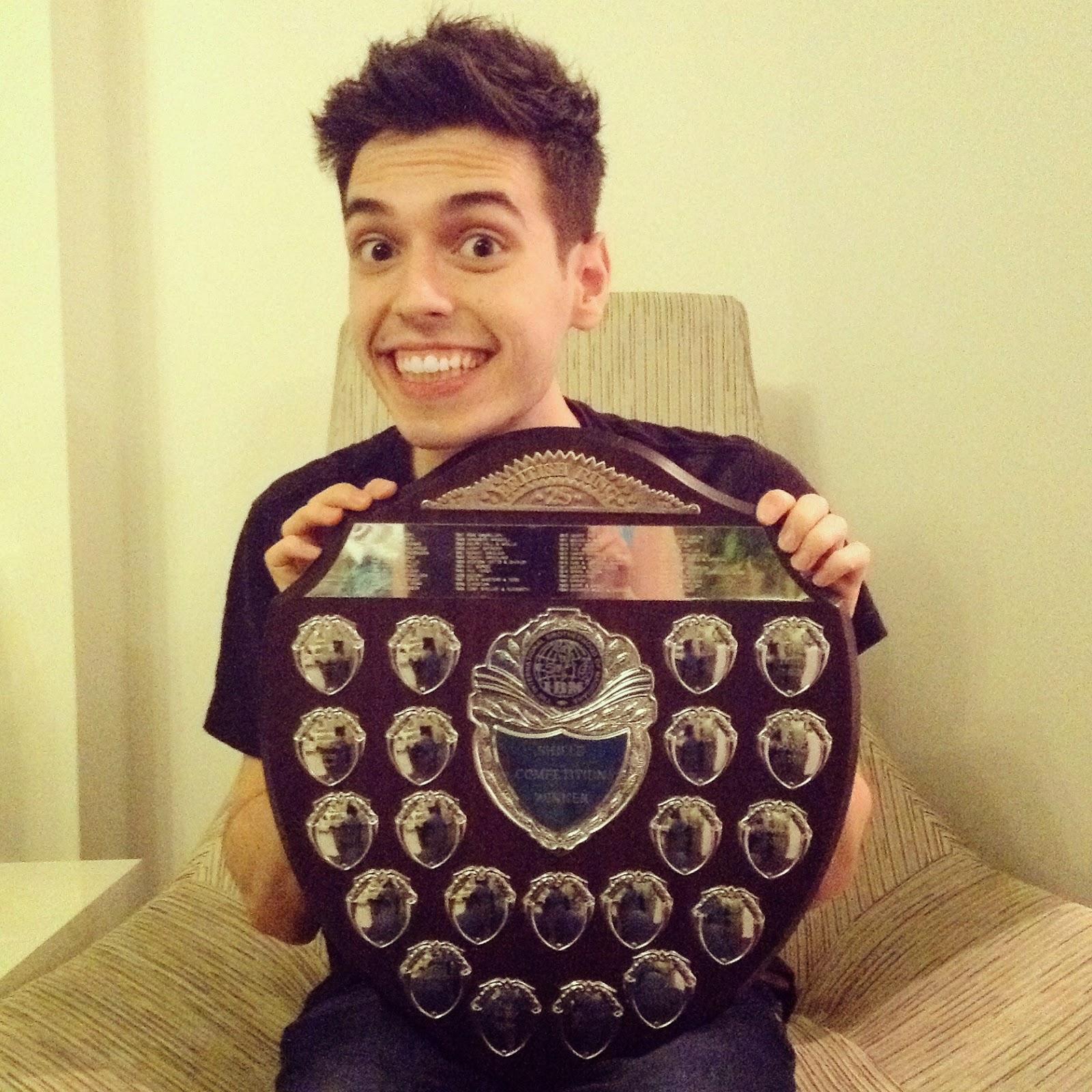 The British Ring Shield - It's big!