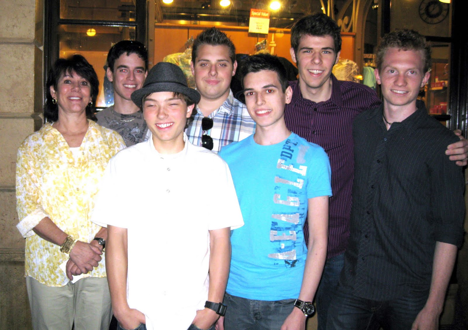 Joanie with the interns at MAGIC Live 2011.