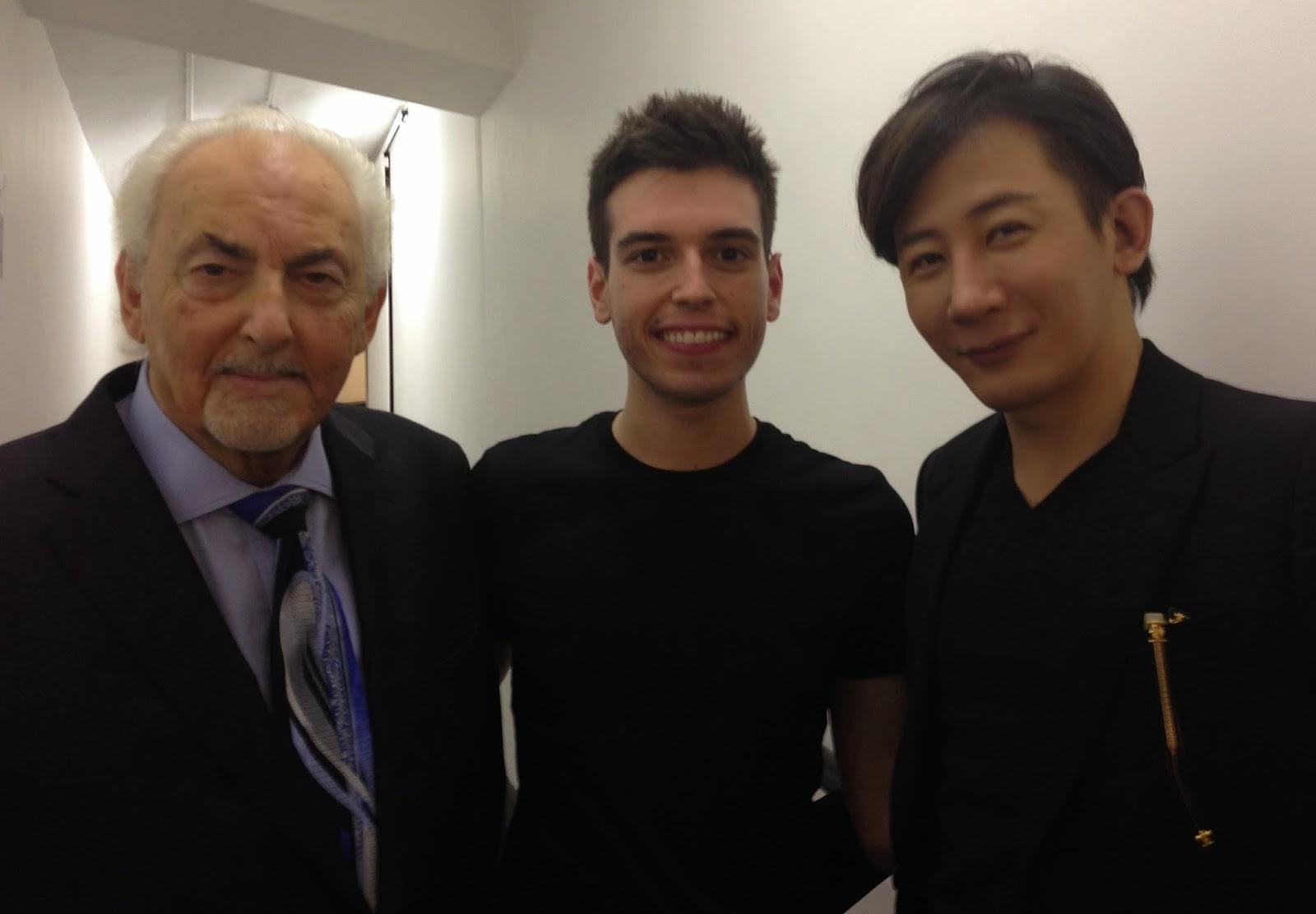 David Berglas, Edward Hilsum & Lu Chen.