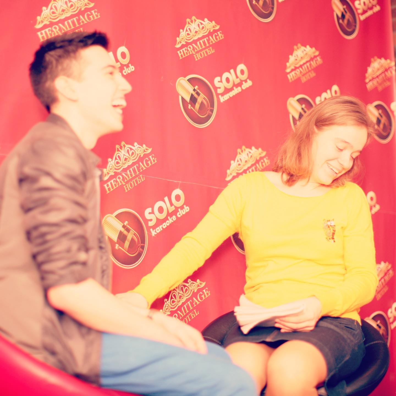 Press Interview, Hotel Hermitage.