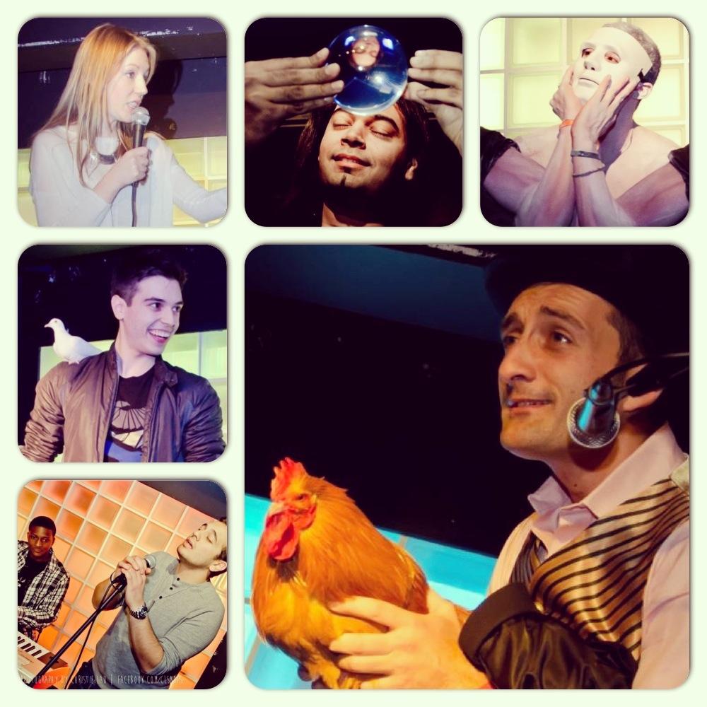 (Top L-R): Katherine Ryan, Brendan Rodrigues, Felix,Edward Hilsum,Max Somerset, Sahand.