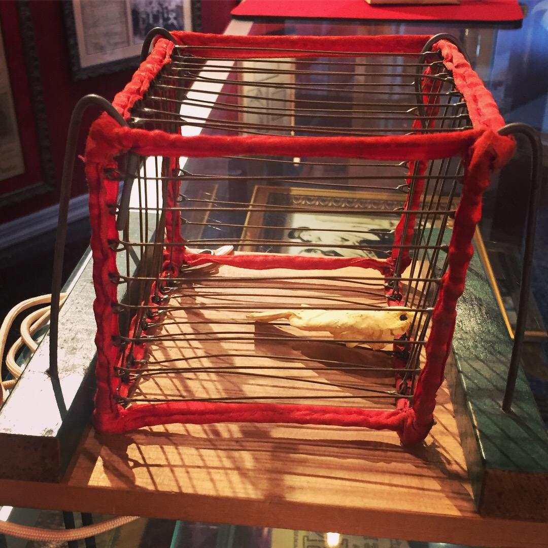 Harry Blackstone's Vanishing Bird Cage.JPG