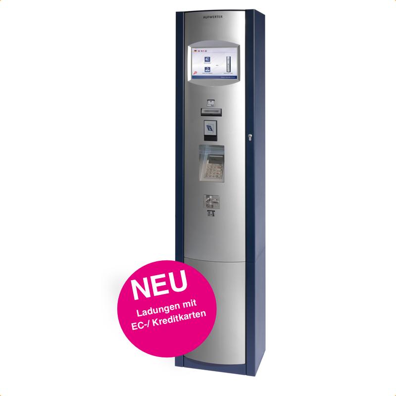 Absolut bargeldlos - moderne Ladestationen für EC-/ Kreditkarten...
