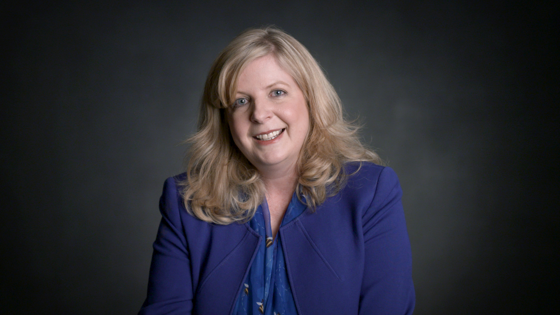 Paige Kimble   Executive Director & 1981 Champion of the Scripps National Spelling Bee