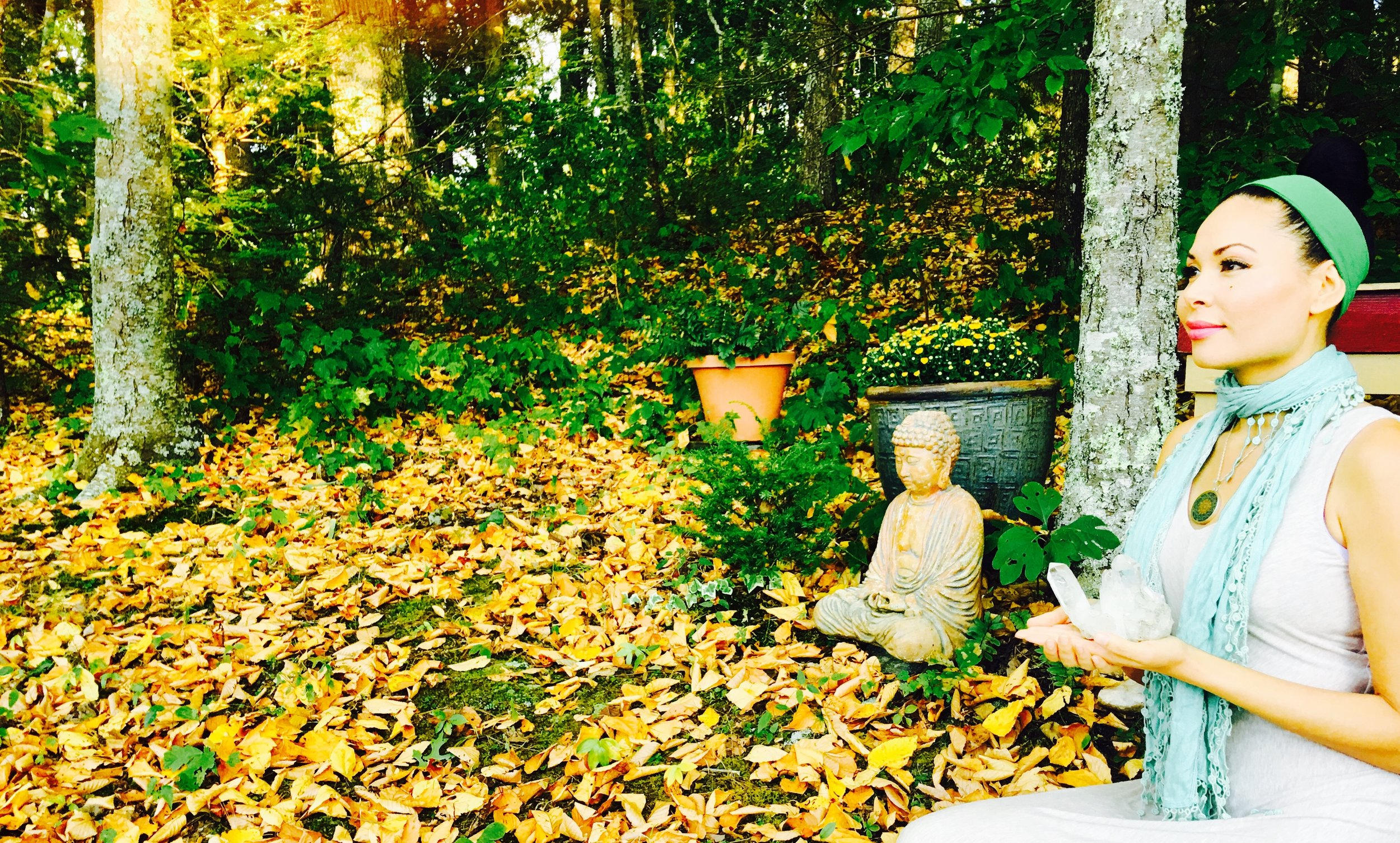 At Crystal Mountain Sanctuary in the Appalachians