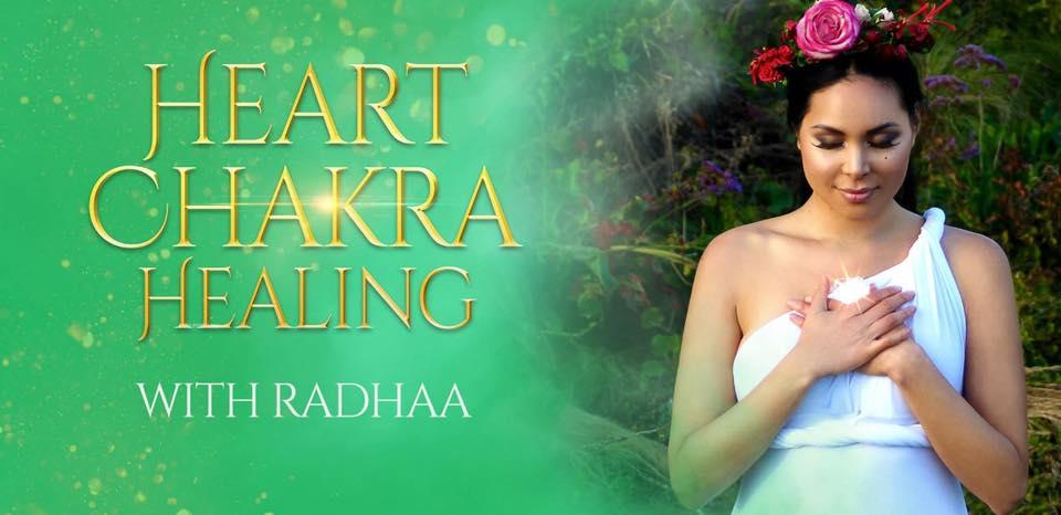 Radhaa Nilia - Heart Chakra Healing