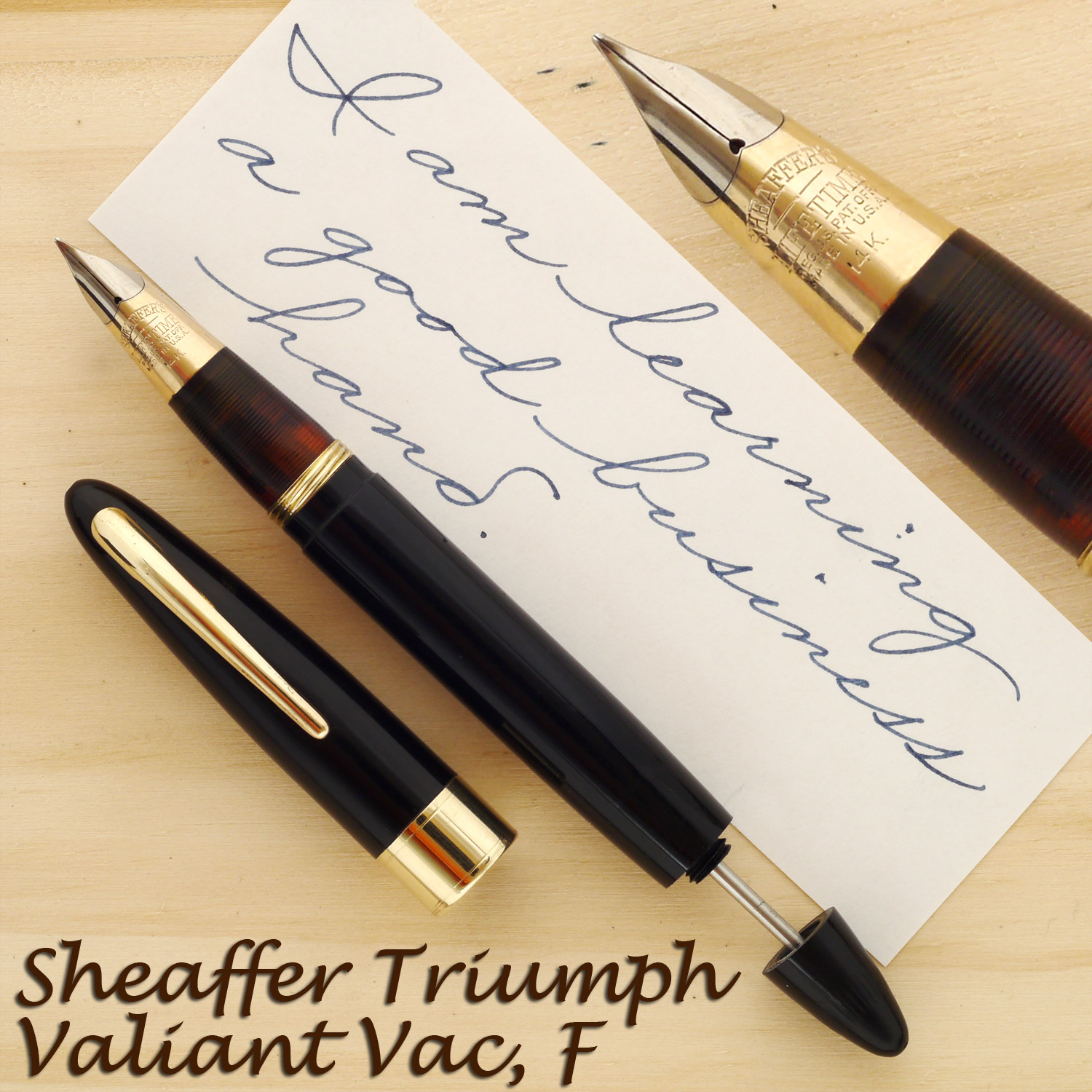 Sheaffer Triumph Valiant Vac 1250, F
