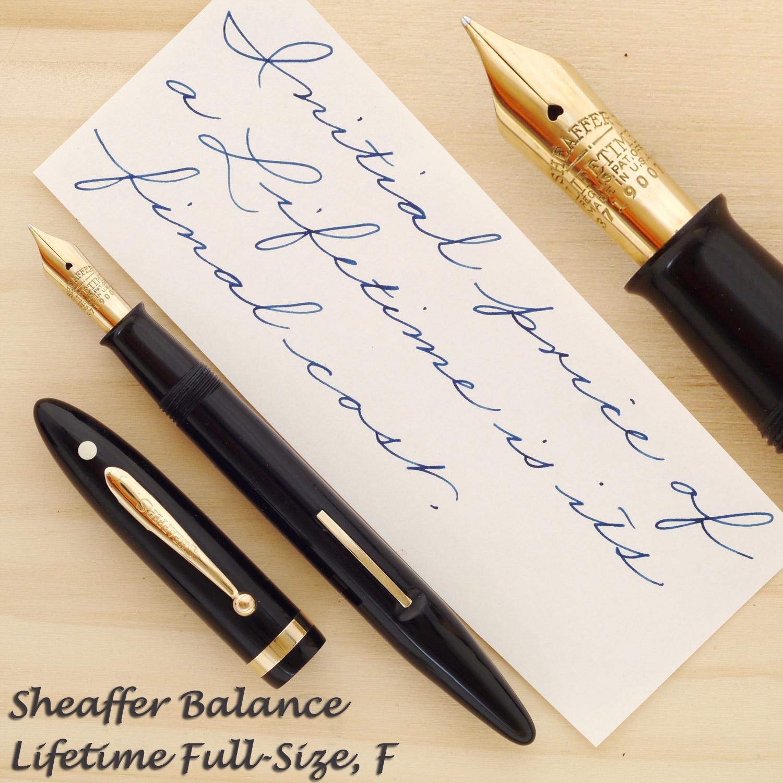 Sheaffer Balance Lifetime Full-Size, F