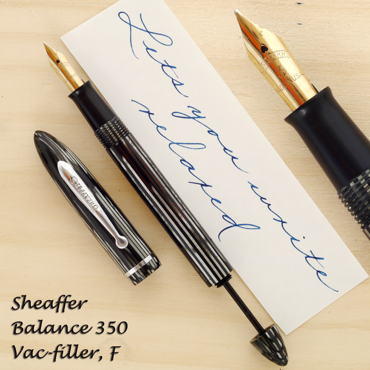Sheaffer Balance 350, Vac