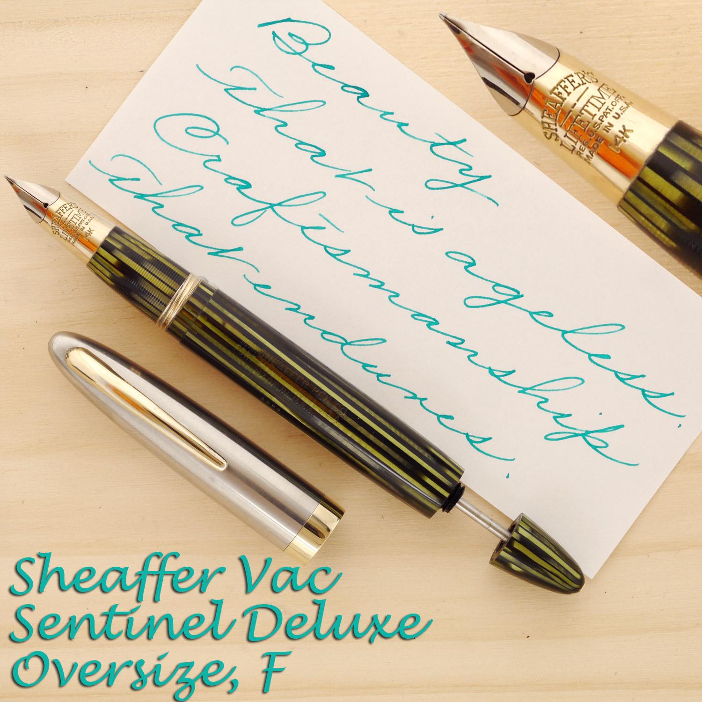 Sheaffer Triumph Vac Sentinel Deluxe, F