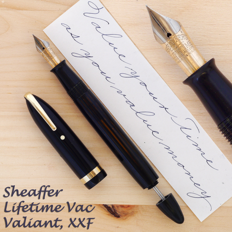 Sheaffer Lifetime Vac Valiant XXF
