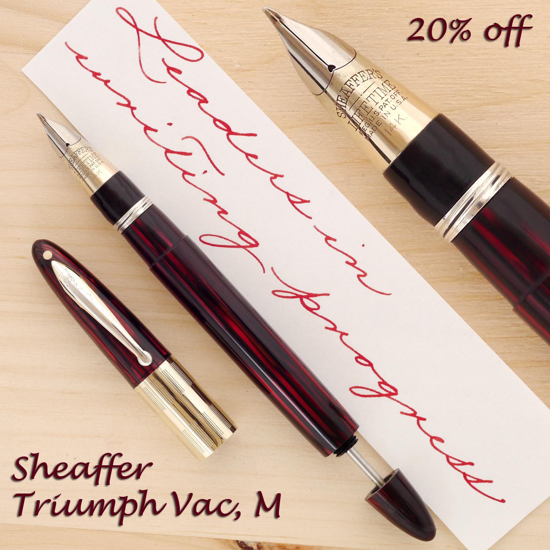 Sheaffer Triumph Vac, M