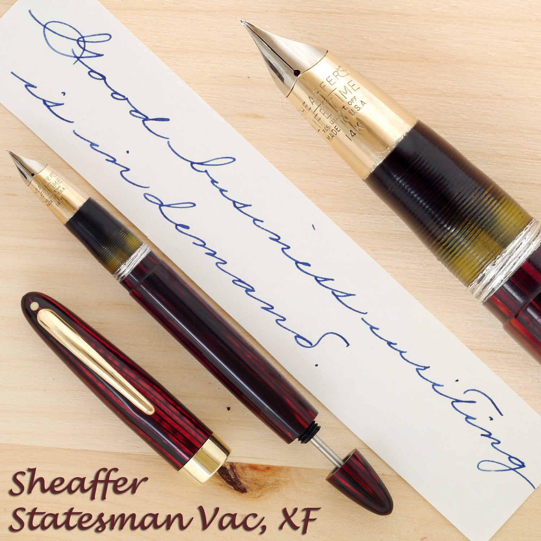 Sheaffer Triumph Statesman Vac, XF