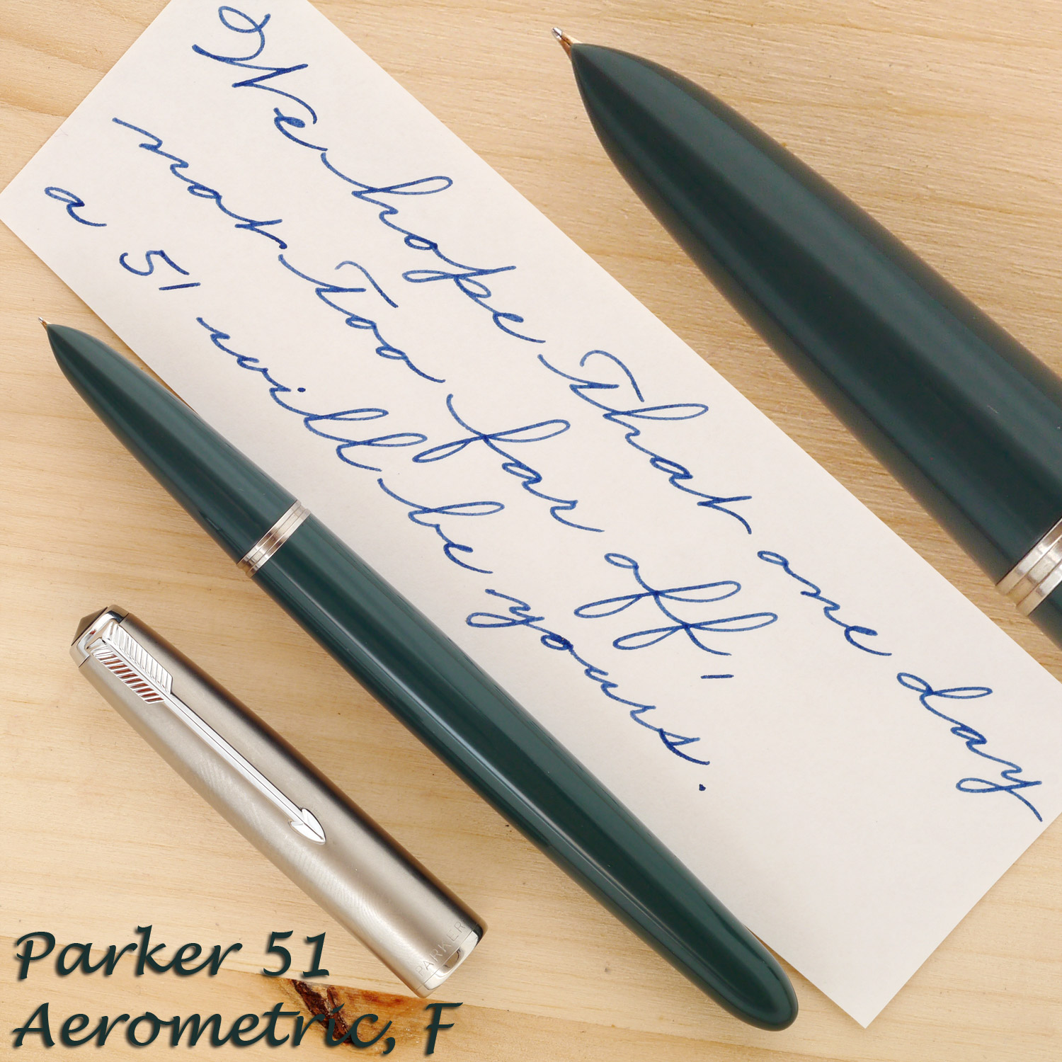 Parker 51 Aerometric Navy Gray, F