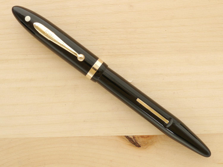 Sheaffer Lifetime Balance, Full-Size, Black, F, capped