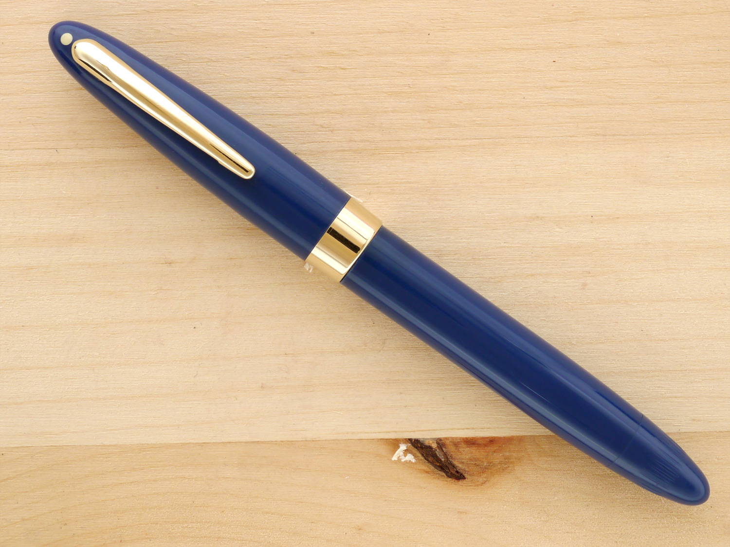 Sheaffer Statesman Vac Blue, XXF capped