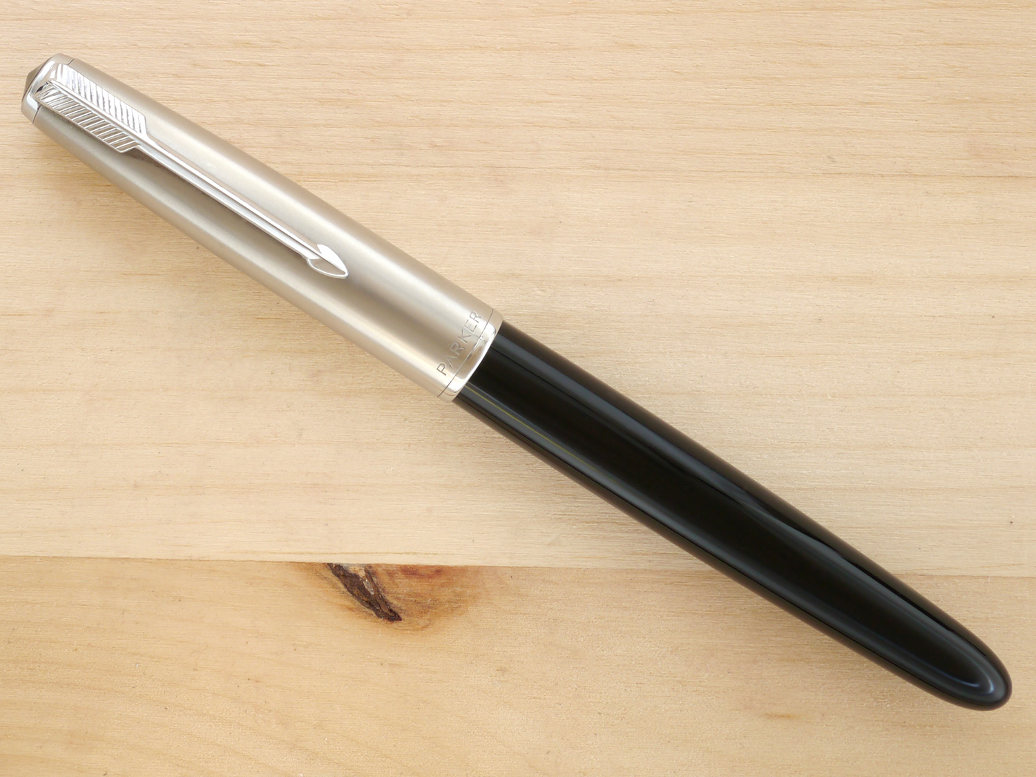 Parker 51 Aerometric, Black, F, capped