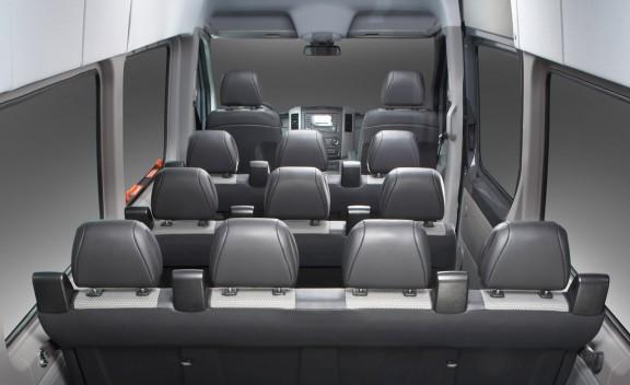 12 Passenger Mercedes Sprinter  (interior)