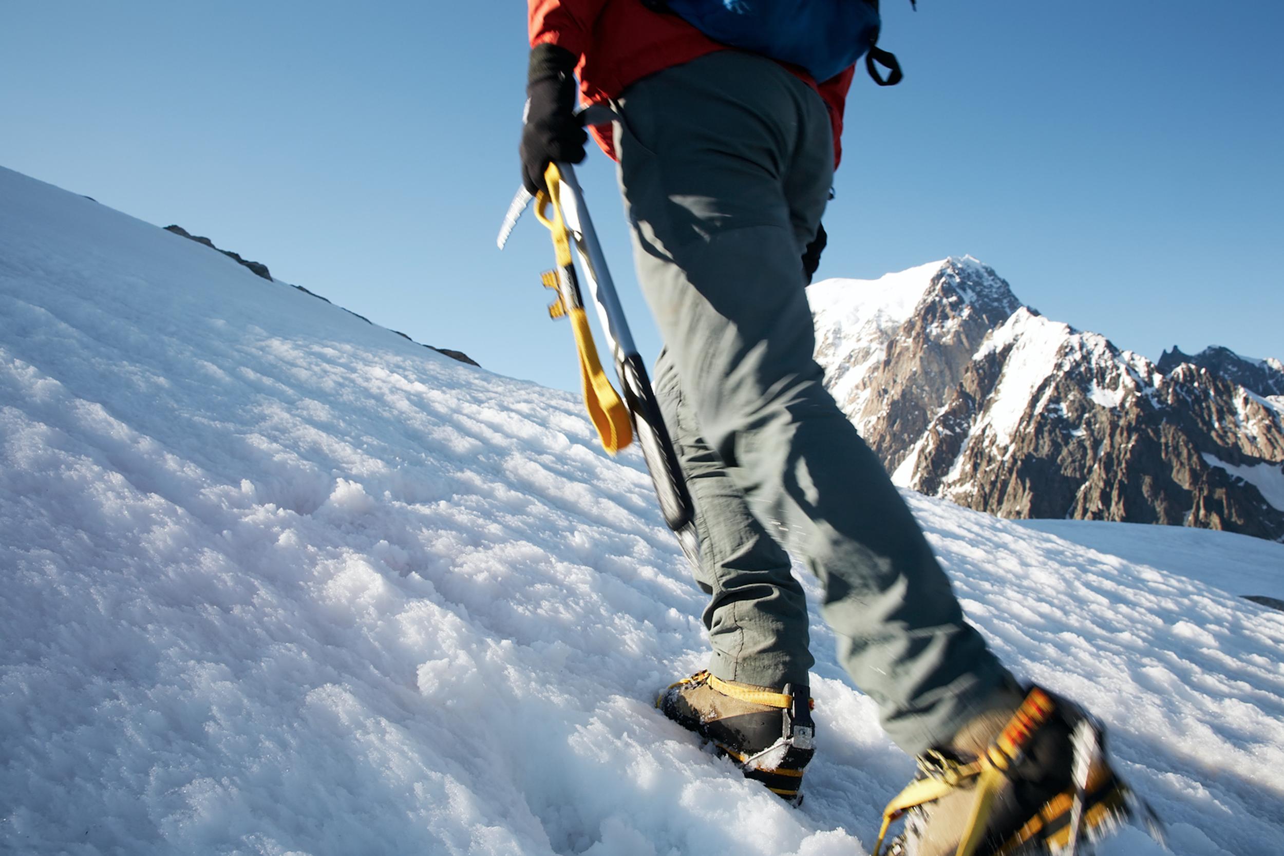 Snowshoeing on Mt Hood
