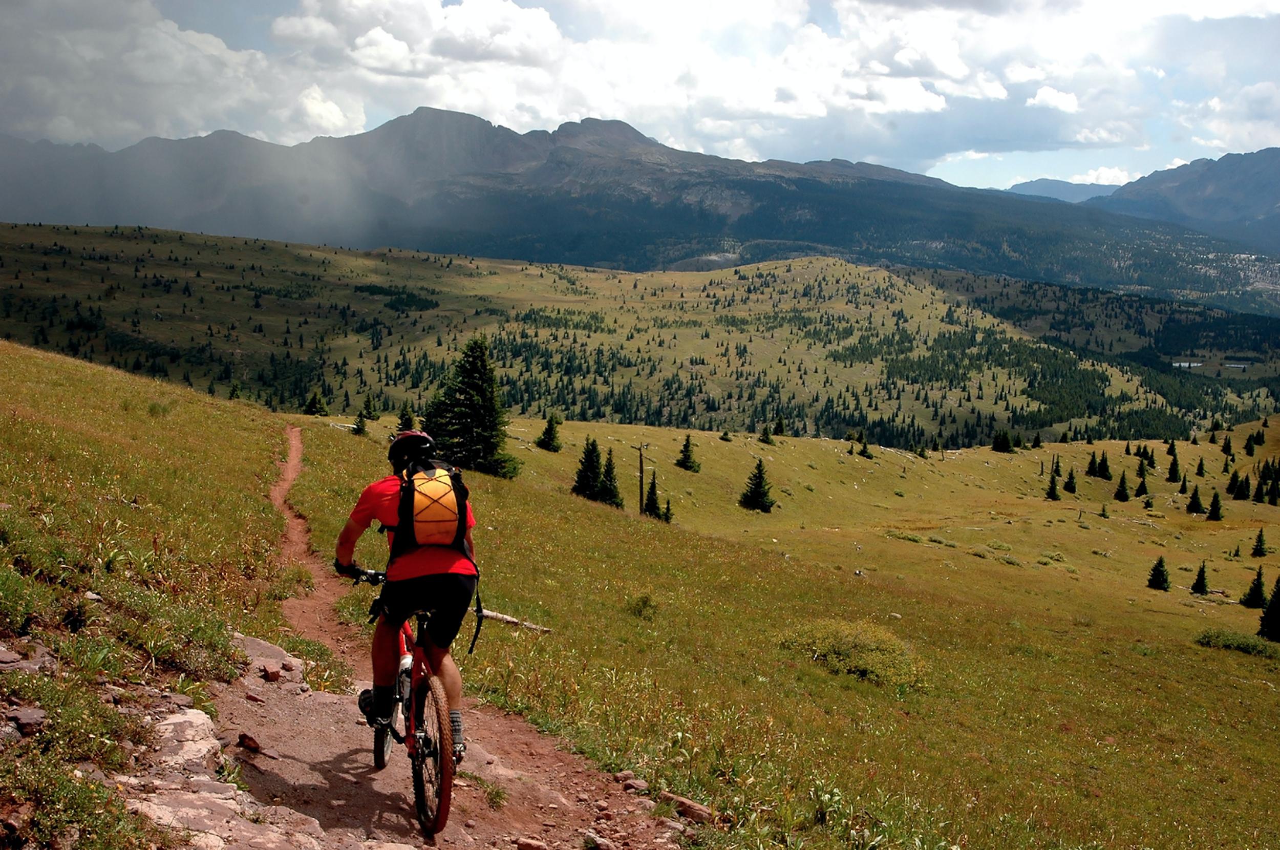 Mt Biking in the Wallowa Mountains