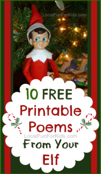 10 Free Elf On The Shelf Printable Poems Local Fun For Kids