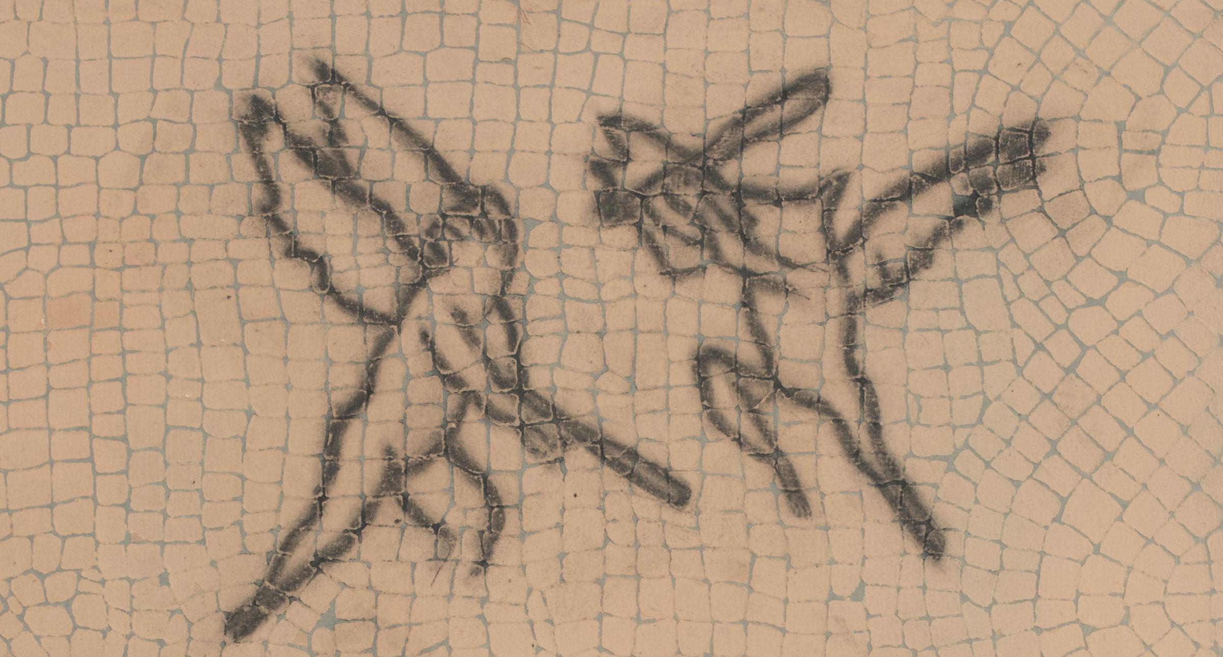 Detail:  I love you like Osiris i  | graphite, gouache | 22INx24IN