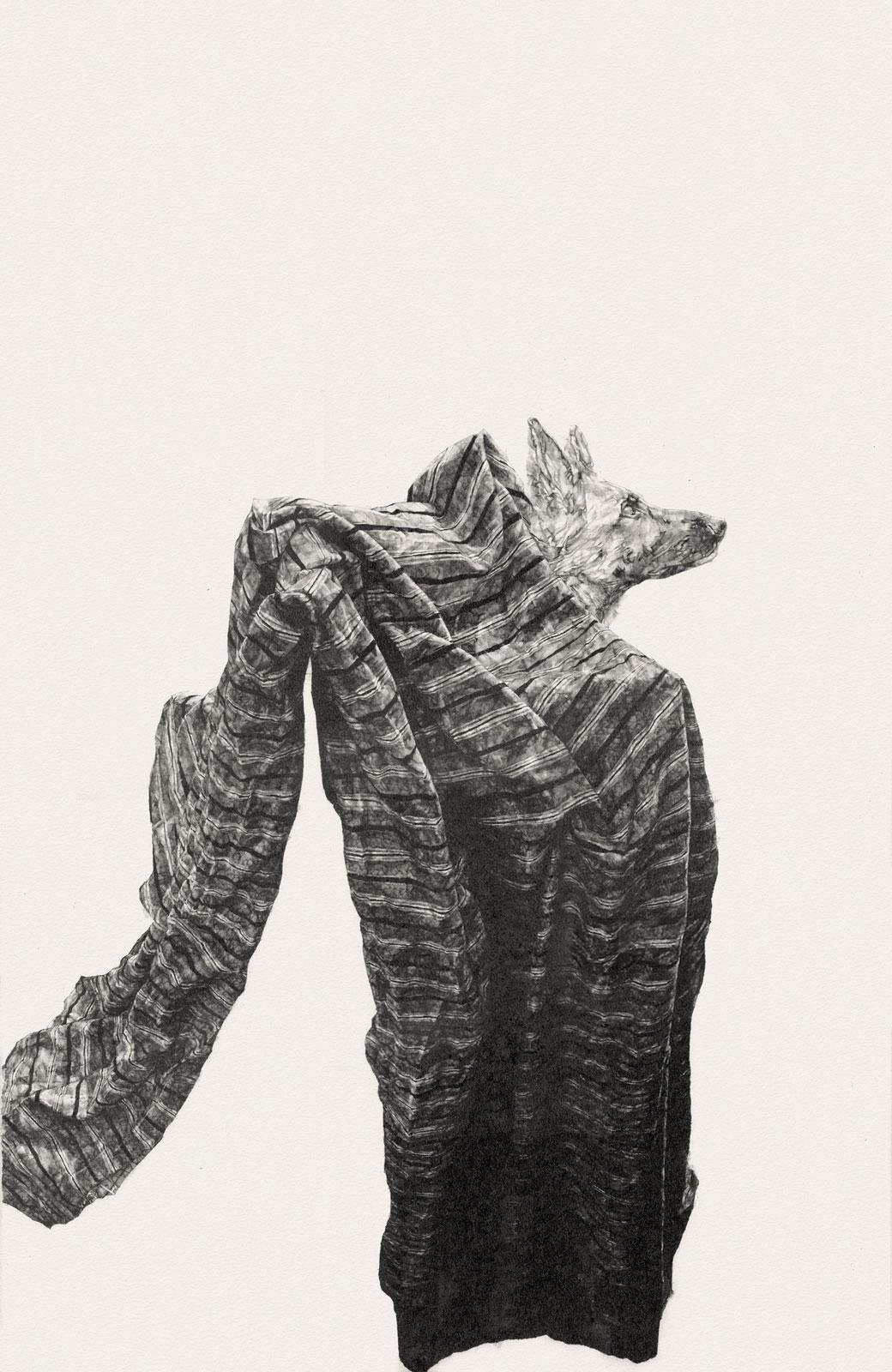 Like Milk & Blood  i | graphite on paper | 26INx40IN