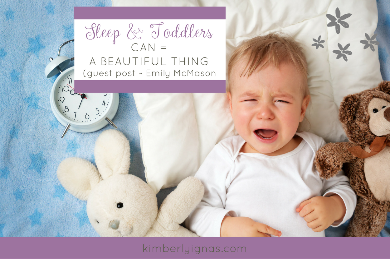 Sleep & Toddlers Guest post